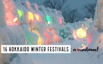 16 hokkaido festivals