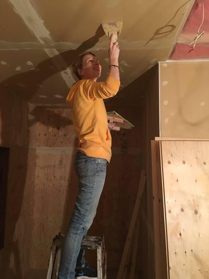 DIY guesthouse renovation