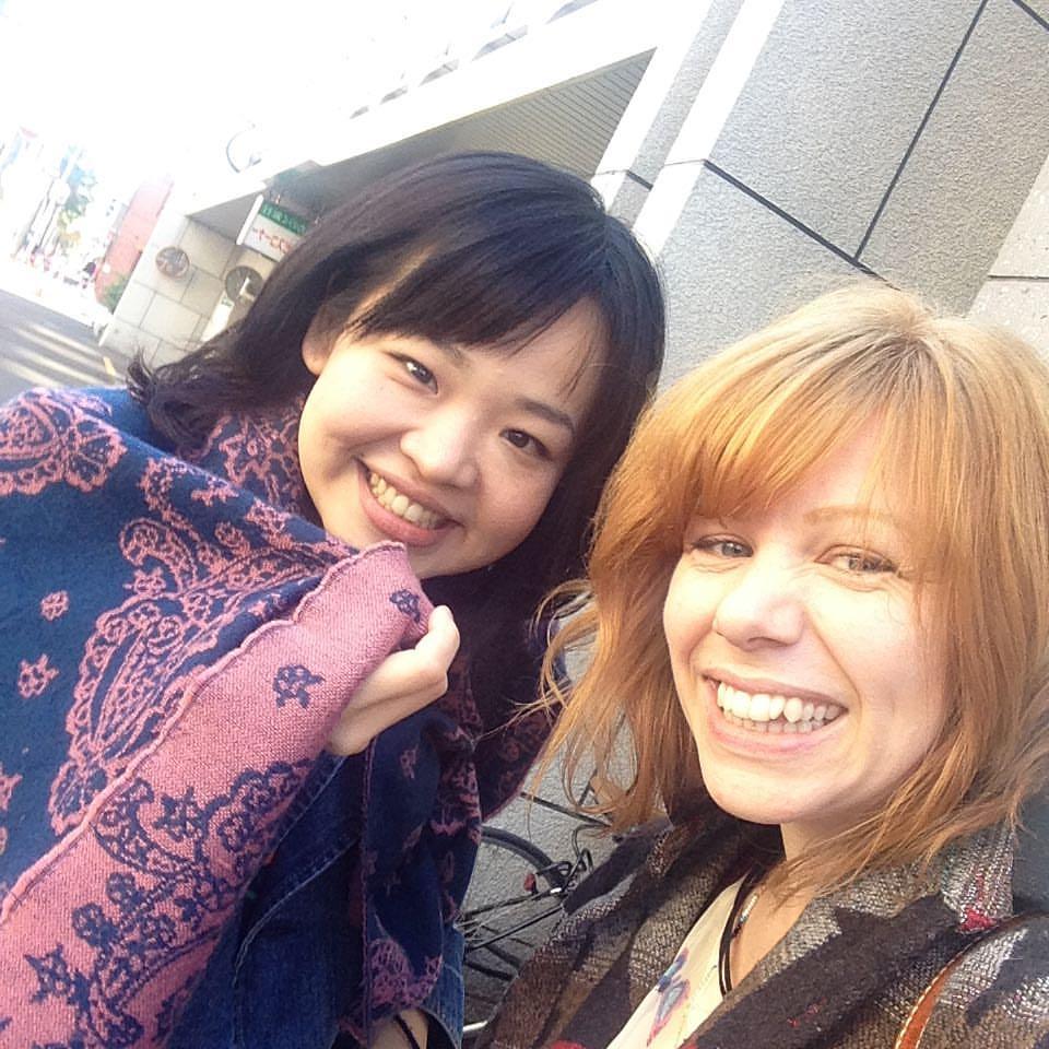 Friends in Japan