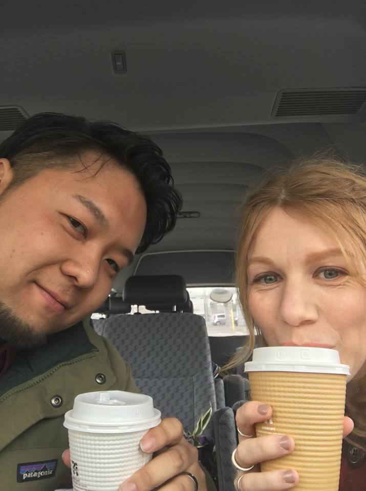 7-11 coffee Japan - charter bus hokkaido